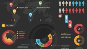 Dark Infographics