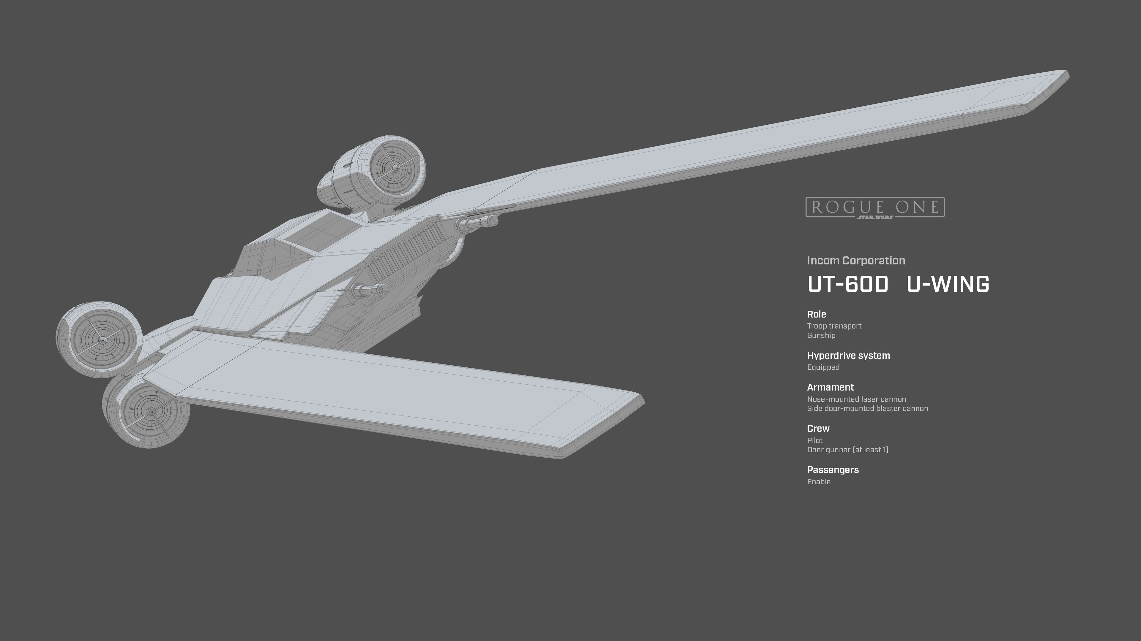 Star Wars Rogue One. U-Wing Wallpapers