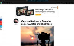 Los mejores recursos para Videomakers: no filmschool